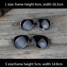 Vazrobe 163mm óculos de sol de grandes dimensões para o homem condução hd revestimento anti refletir tons grande face aviação