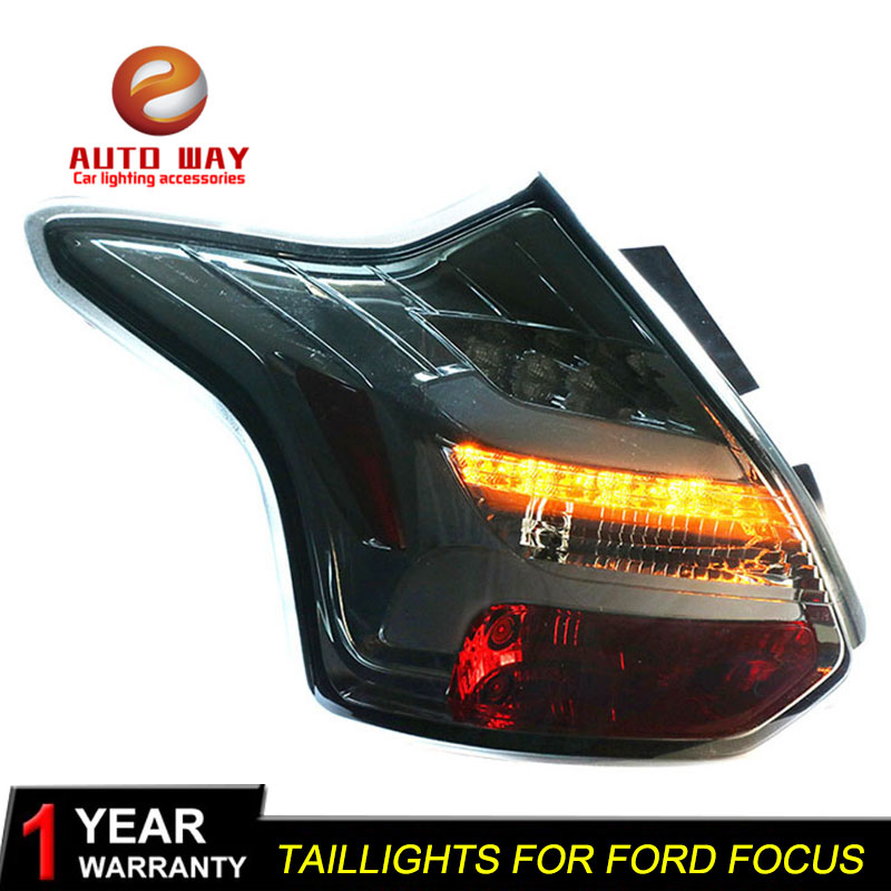 Car Styling case for <font><b>Ford</b></font> <font><b>focus</b></font> 2012 2013 2014 <font><b>taillights</b></font> <font><b>Ford</b></font> <font><b>focus</b></font> TAIL Lights LED Tail Light LED Rear Lamp Certa <font><b>taillight</b></font> image