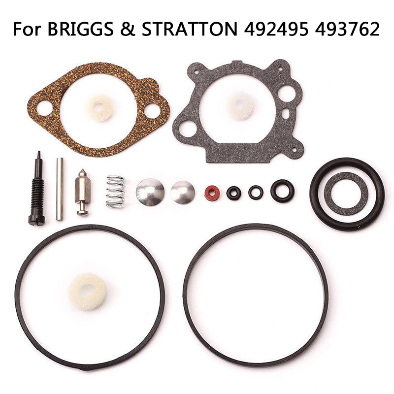19pcs Replacement Carburetor Repair Kit Power Engine Generator Tools For BRIGGS STRATTON Lawn Mower Parts