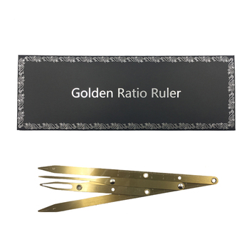 1pc Microblading Supplies Golden Ratio Caliper Eyebrow Ruler Permanent Makeup Accessories Eyebrow Stencil Tattoo Measuring Tools