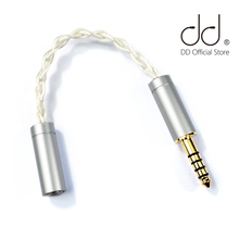 DD BLA-4A Balanced 4.4 male to 2.5 female audio cable, Silver-plated OCC, used for SONY music players. for 2.5mm jack headphone 1meter 8 8 hybrid occ silver plated 2 5mm trrs to 2 xlr female audio adapter cable for ak240 ak380 ak320 dp x1 fiio x5iii