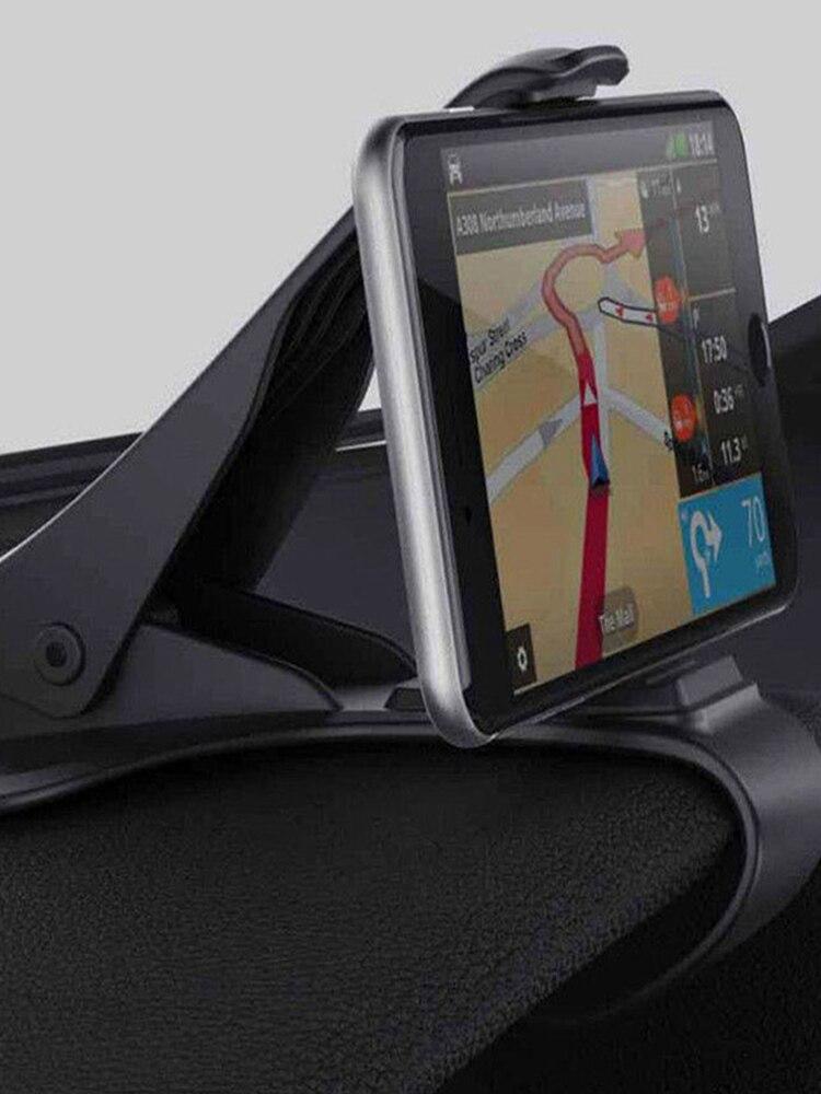 Car-Phone-Holder Mount-Stand-Bracket Dashboard Mobile-Phone-Clip Navigation Universal