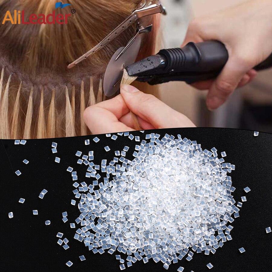 Кератиновый клей-гранулы Alileader 20/50/100 г, термоплавкий фьюжн, итальянские кератиновые клей-бусины, Нескользящие липкие клейкие волосы