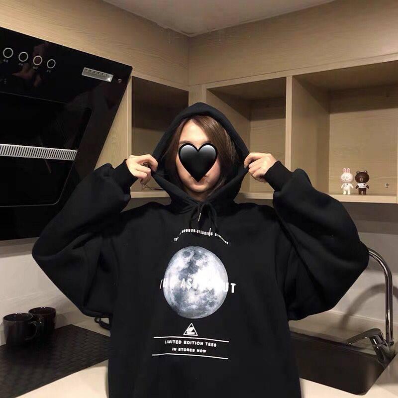 KingDeng Winter Keep Warm 2019 New Hoodies For Girls Women's Sweatshirt Long-sleeved Winter Thickening Harajuku Fashion Design