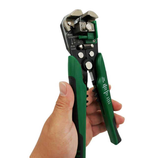 Crimper Cable Cutter Automatic Wire Stripper Multifunctional Stripping Tools Crimping Pliers Terminal 0.2-6.0mm2 tool 6