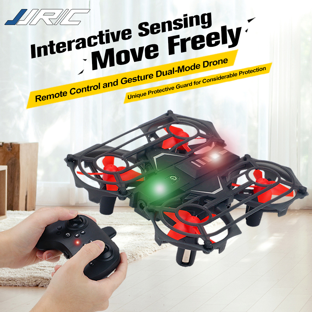 JJRC 2.4G Gesture Sensing Drone Quadrocopter Infrared UFO Smart Landing Usb Charge Electric Aircraft Juguetes RC Racing Drone