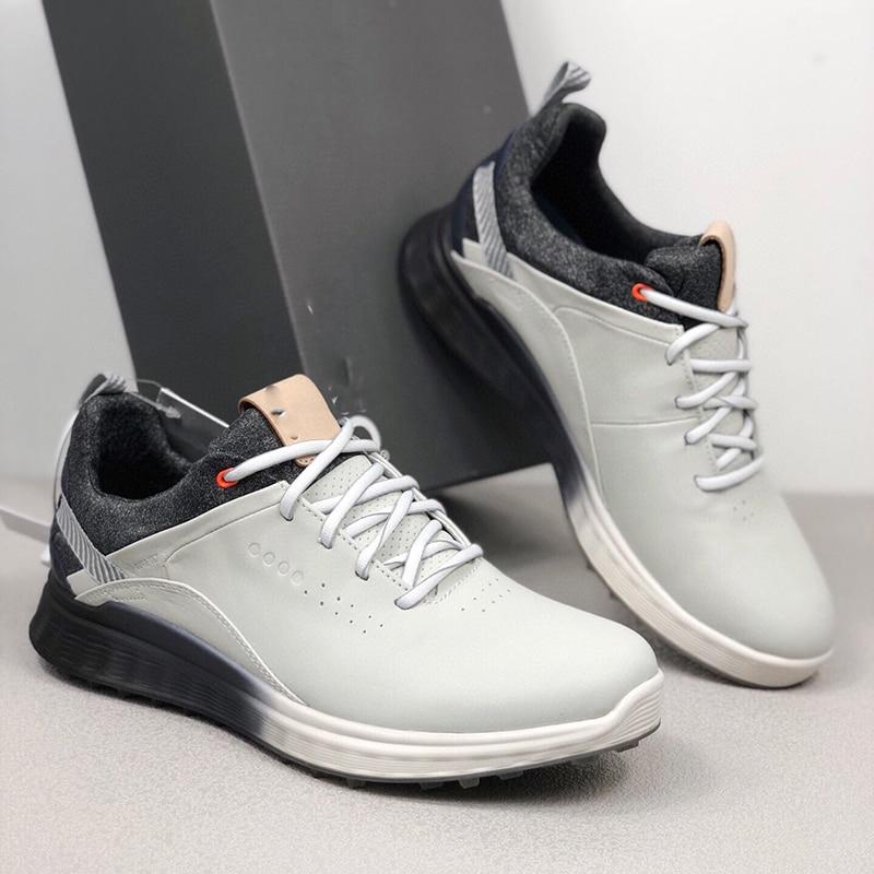 Мужские кроссовки для гольфа без спиц, профессиональная спортивная обувь для ходьбы, тренировочные кроссовки для гольфа, Мужская обувь для ...