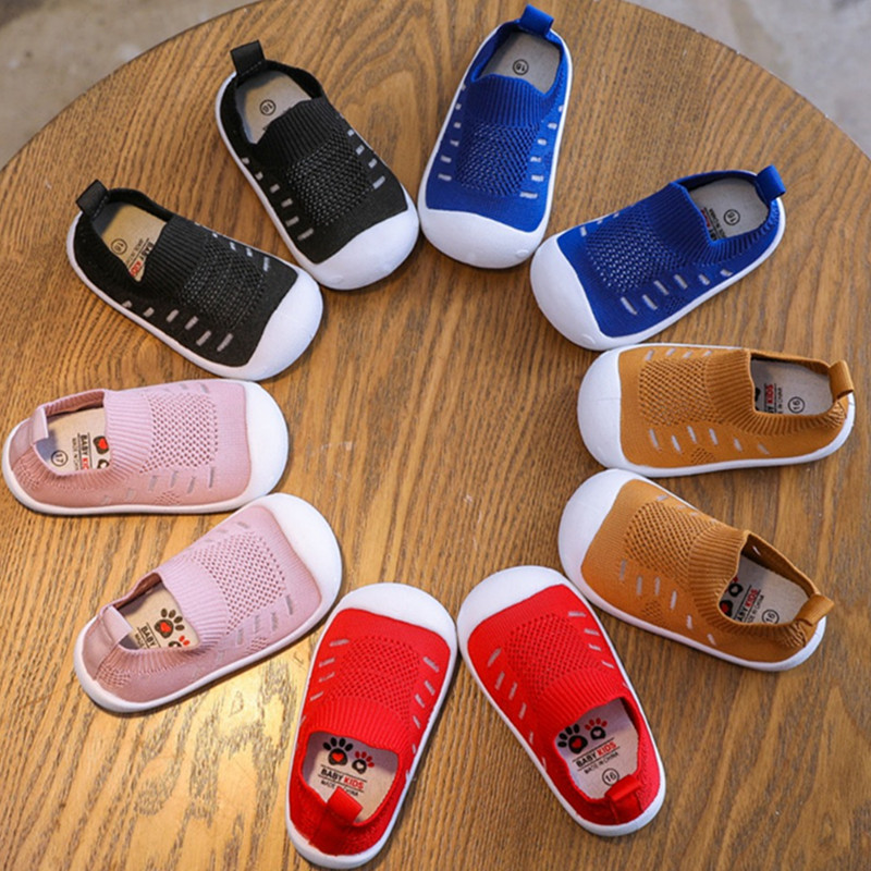 Baby Shoes Toddler Baby-Boys-Girls Prewalkers Soft-Bottom Breathable New Mesh Cute Non-Slip