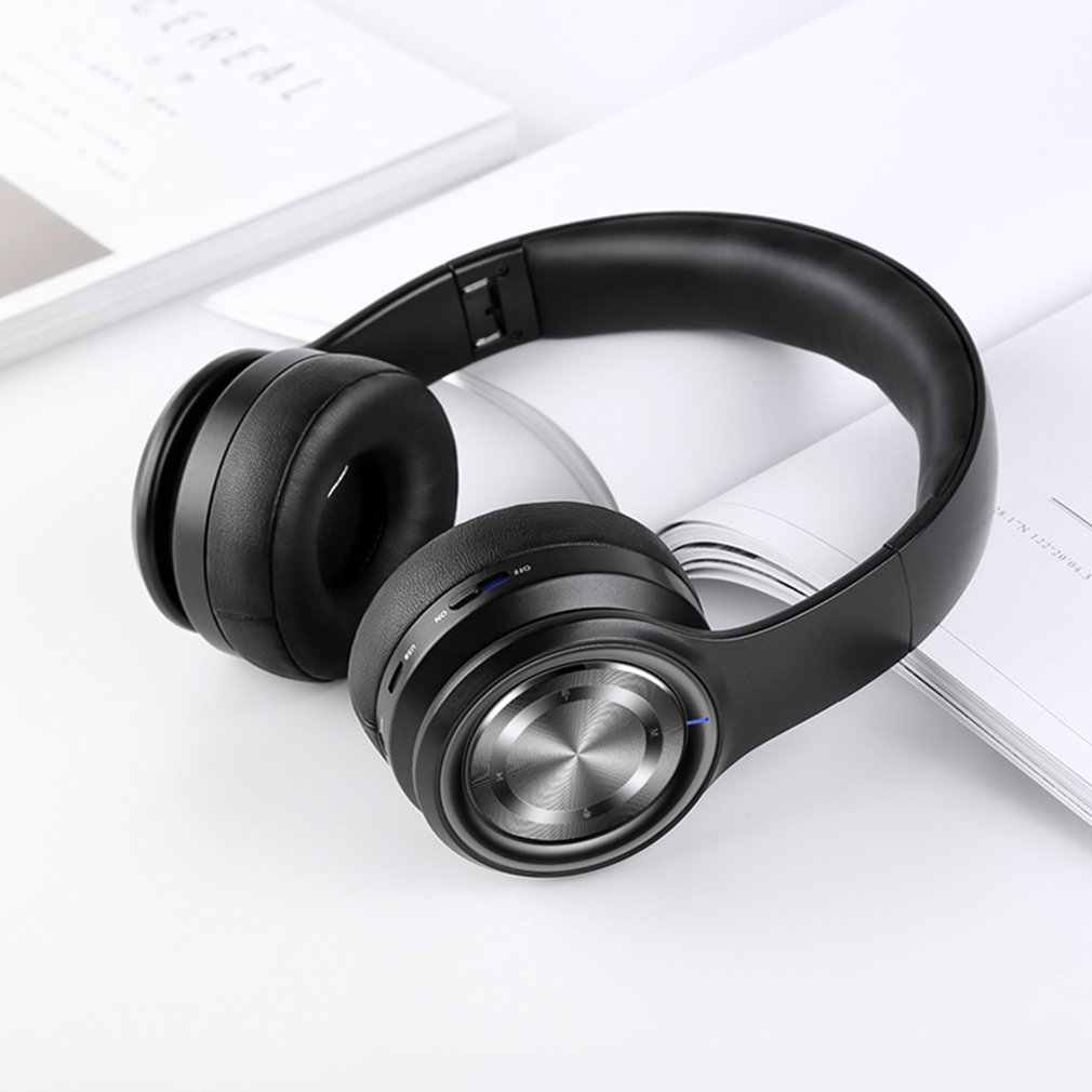 Casque sans fil Bluetooth P26 casque stéréo Hi-Fi sans fil écouteurs sans fil pliables avec micro
