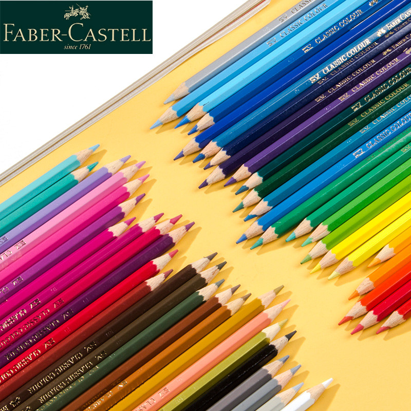 3Pcs Germany Faber-Castell Oily Color Lead 60 Colors Single  Pencil Professional Hand Drawing Complementary Colour Art Supply