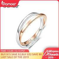 Alta calidad $10,84 plata y oro anillo astronómico esfera bola anillo complejo giratorio anillo cósmico para pareja amante joyería