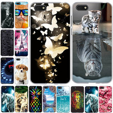 Voor Huawei Y5 2018 Case Cover Silicone TPU 3D Afdrukken Funda voor Huawei Y5 Prime 2018/Honor Play 7 /Honor 7s Case Cover Coque(China)