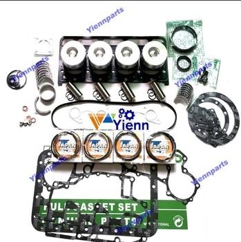 V2403 Engine Kit With Direction Piston For Kubota Diesel Engine Overhaul Rebuild Kit Piston Ring Bearing Full Gasket Set
