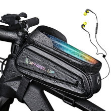 Touchscreen-Bag Bike-Bag Frame Bicycle-Accessories Phone-Case Front-Top-Tube Rainproof