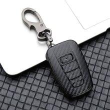 Новинка 2019 карбоновый чехол для автомобильного ключа toyota