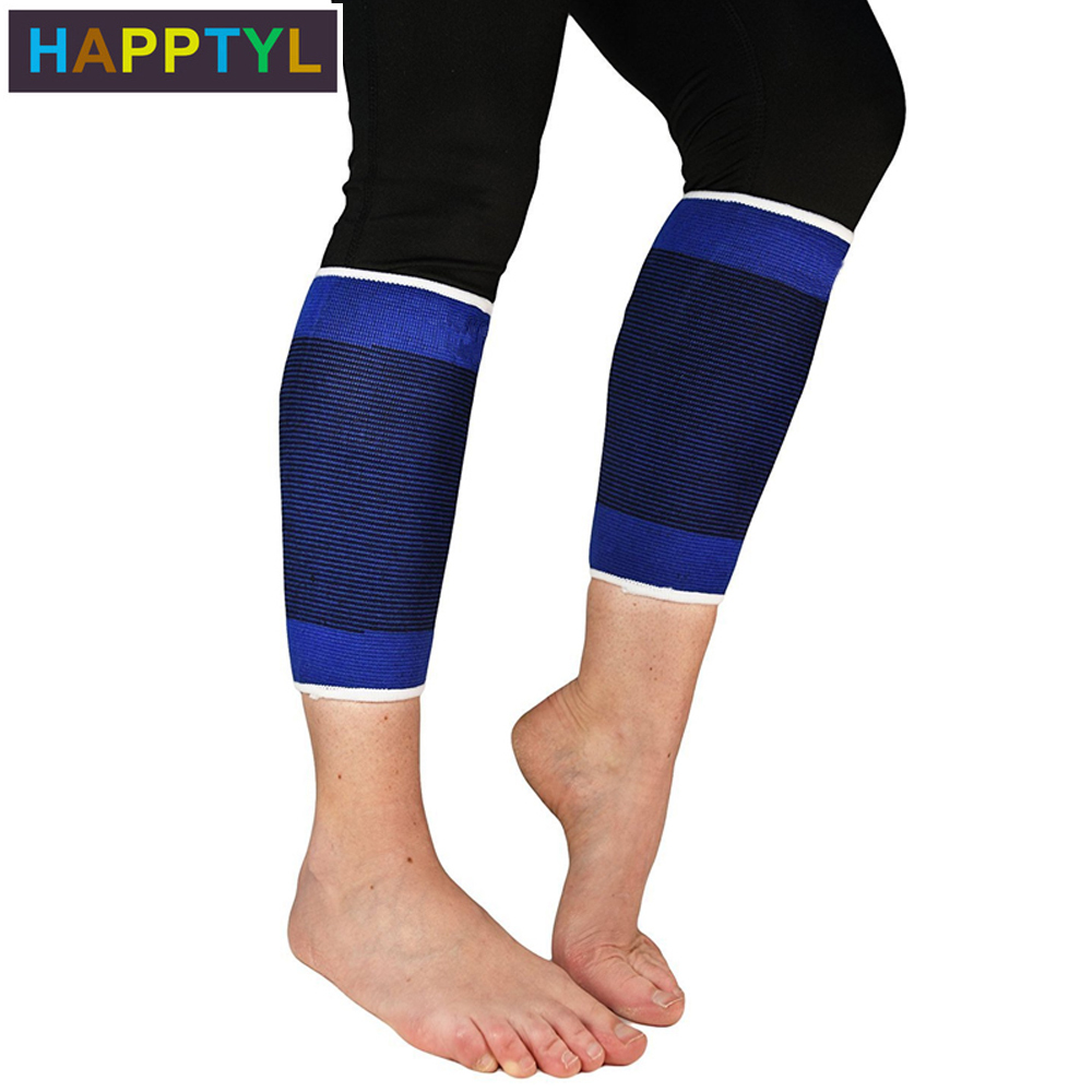 HAPPTYL 1Pair Calf Compression Sleeves Footless Compression Stockings And Calf Support For Runners - Relief For Shin Splints