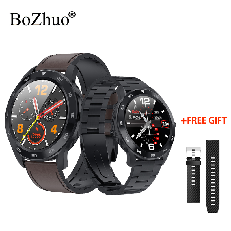 DT98 Bluetooth Anruf Smart Uhr Männer 1,3 Volle Runde HD touchscreen <font><b>IP68</b></font> Waterproo Smartwatch für xiaomi huawei honor telefon GT image