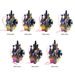Image 3 - Alconstar  28 30 32 34mm New Colorful Motorcycle Carburetor Carburador with Power Jet 2T/4T Scooter ATV UTV Off Road Racing