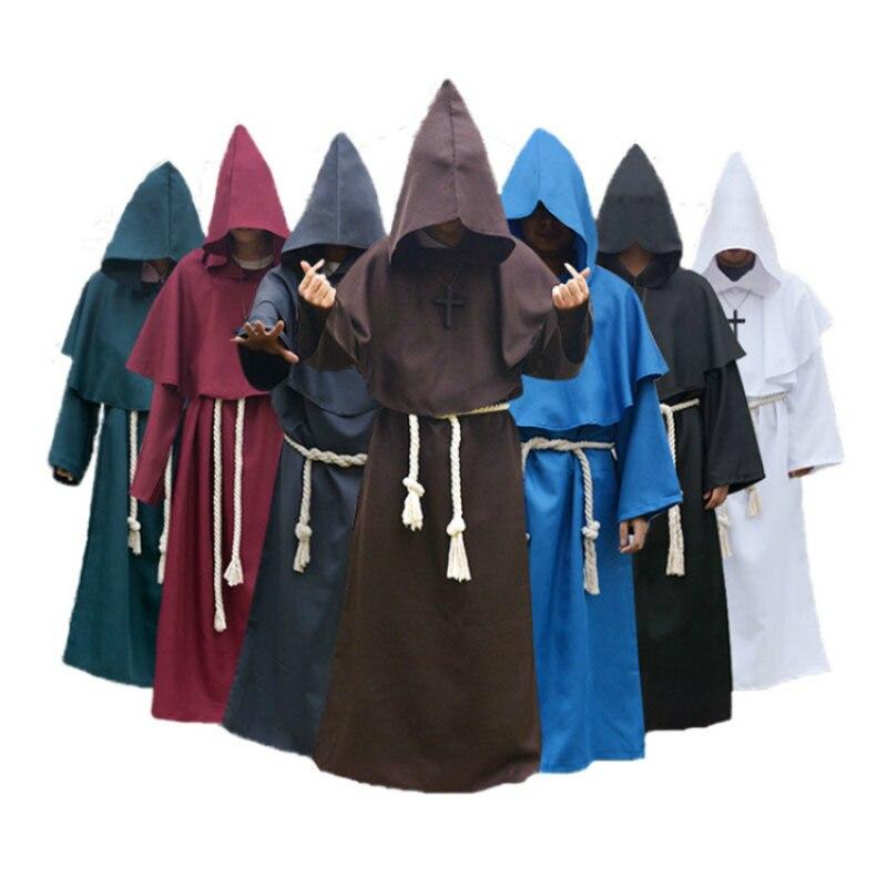 Priest Robe Plus Size Halloween Costume