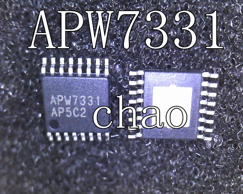 2pcs/lot APW7331 7331 TSSOP-16 In Stock