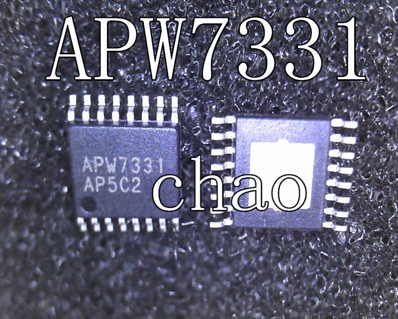 2pcs/lot APW7331 7331 TSSOP-16 In Stock