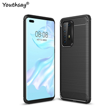 For Huawei P40 Pro Case Fundas Flexible Silicone Shell Rubber Protector Phone Case For Huawei P40 Pro Cover For Huawei P40 Pro for huawei p40 pro case liquid silicone soft rubber back protector fundas for huawei p40 pro cover phone case for huawei p40 pro