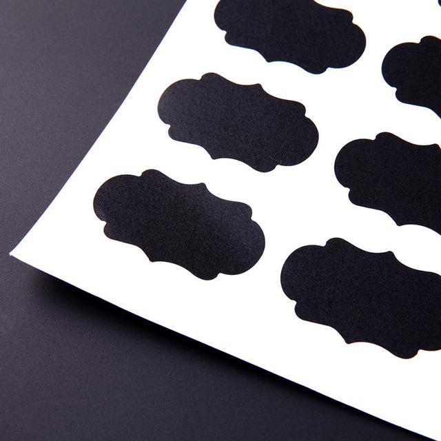 Blackboard Sticker Craft Kitchen 5 X 3.5 cm 6