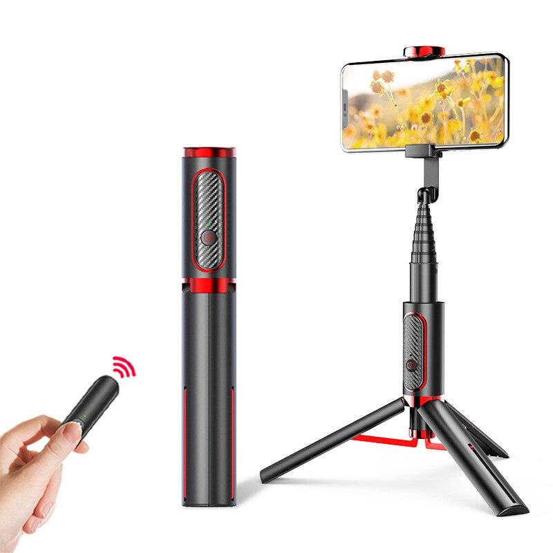 Bluetooth Selfie Stick Monopod Universal Mini trípode todo en uno integrado extraíble trípodes Selfie Sticks para Iphone Almohadilla antideslizante agarre a tierra, suelas adhesivas antideslizantes, alfombrillas para zapatos