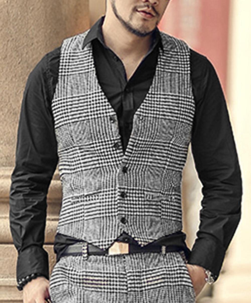 2018-New-arrival-winter-men-s-woolen-casual-plaid-European-style-vest-Mens-slim-fashion-brand (3)