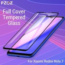 PZOZ, para Xiaomi Redmi Note 9 s 7 8 K20 7A Mi Note 10 CC9e Pro 9t Mi9, Protector de pantalla, cubierta completa, película protectora de vidrio templado