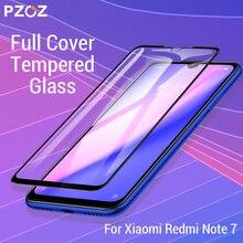 PZOZ pour Xiaomi Redmi Note 9 s 7 8 K20 7A Mi Note 10 CC9e Pro 9t Mi9 protecteur décran couverture complète Film de protection en verre trempé