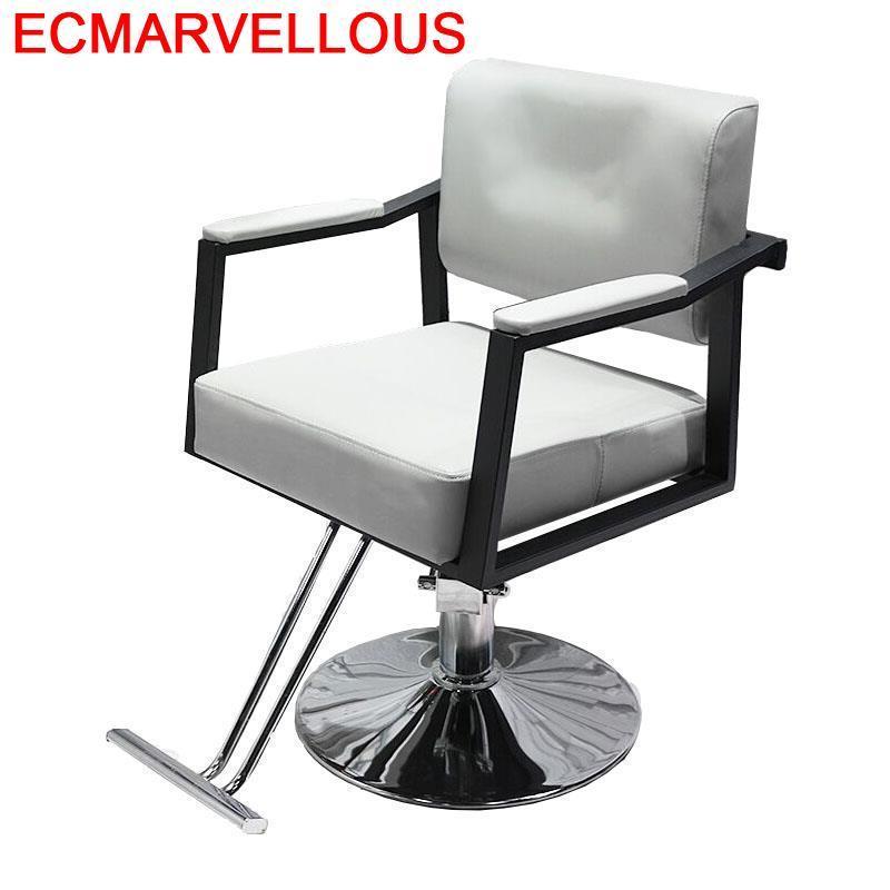 Hair Sedie Barberia Beauty Cabeleireiro Furniture Cadeira De Barbeiro Sessel Salon Shop Silla Barbershop Barber Chair