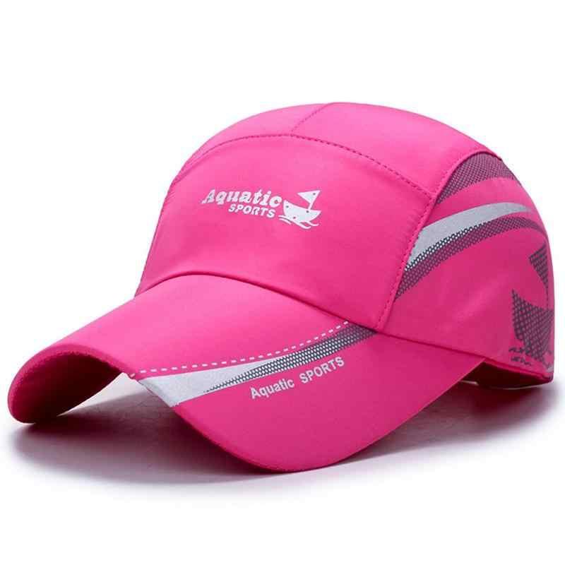 Nuovo Impermeabile Berretto Da Baseball di Estate di Sport Esterno Traspirante Tappi di Moda Per Il Tempo Libero Cappello Semplice Protezione Solare Lingua di Anatra Cappello