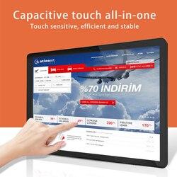 10.4 Inch Aio Industriële Tablet Pc Capacitieve Touchscreen I3 I5 I7 J1900 Bulit Wifi 232 Com Industriële control Producten