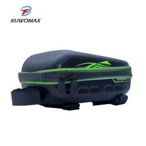 Image 4 - Sac de vélo étanche de grande capacité, sacoche Portable pour cyclisme, Tube avant, Sports de plein air, mince, avec accessoires