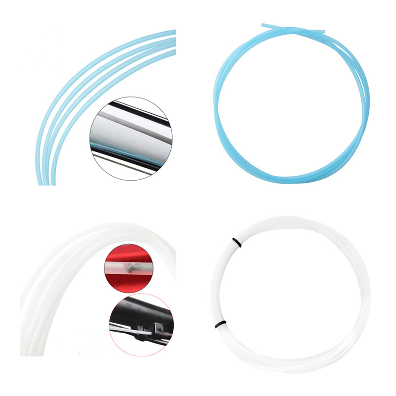 1M Mountain Road Bike Brake Shift Soft Cable Core Protection Cable Teflon Bushing Lubricating Catheters MTB Accessoriee