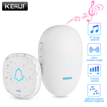 KERUI M521 Home Security Welcome Wireless Doorbell Smart Chimes Doorbel