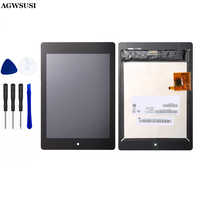 Per Acer Iconia Tab A1-810 Sensore di Sostituzione Dello Schermo di Tocco Digitizer Vetro per A1-811 A1 810 con Il Numero di Inseguimento
