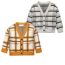 Imcute Kids Sweater For Children Boy Girl Autumn Winter Knitted Cardigan Sweater Coat New Toddler Jacket Outerwear Clothes