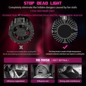 Image 3 - Novsight H7 LED H4 H11 H8 H1 אור נורות אוטומטי מיני HB3 HB4 led פנסים נורות canbus 6500k אוטומטי פנסי ערפל אורות 12v