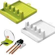 Кухонные аксессуары, подставка для ложки, полка для вилки, держатель для ложки, кухонный органайзер для хранения, подставка для посуды для у...