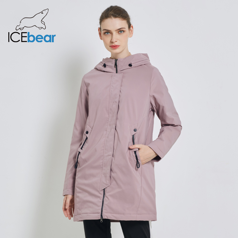 ICEbear 2019 New Windproof Women's Jacket  Autumn Women Coat High Quality Casual Female Coats Hooded Clothing  GWC19110I
