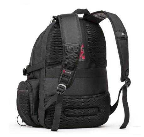 Kaka 17 polegada computador portátil mochila grande capacidade de viagem dos homens mochila de negócios bolsa de ombro à prova de água