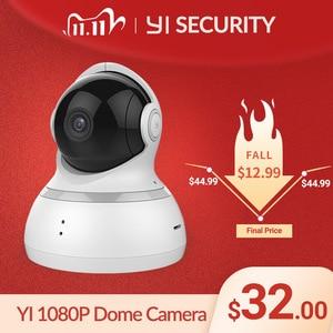 Image 1 - يي كاميرا بشكل قبة 1080P اللاسلكية IP مراقبة الأمن للرؤية الليلية النسخة الدولية مراقبة الطفل CCTV واي فاي سحابة المتاحة