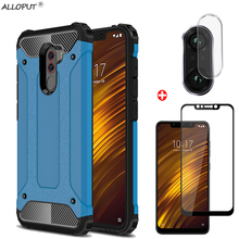 3-in-1 Front+Back Glass Xiaomi Pocophone F1 Case