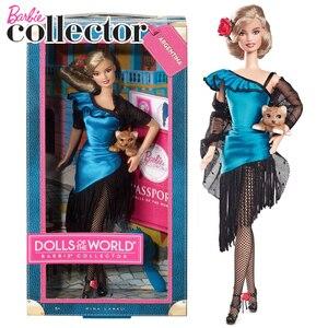 Image 4 - Original Barbie Puppen Begrenzte Look mit Kleidung Frauen Prinzessin Inspirierende Barbie Sammler Spielzeug für Mädchen Geschenke Geburtstag Präsentiert