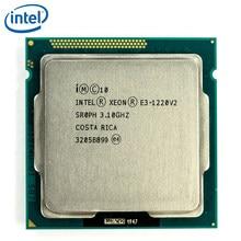 Intel Xeon E3-1220 V2 3,1 GHz 69W 8MB 4 Core 1333MHz SR0PH E3-1220-V2 LGA 1155 CPU procesador E3 1220 V2 prueba 100% de trabajo