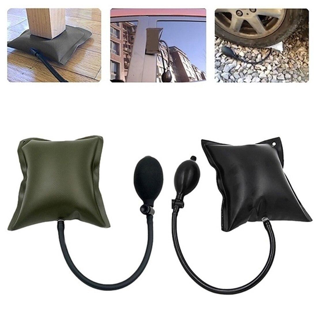 Car Door Repair NEW PDR Tools Pump Wedge Lock Smith Tools Auto Air Wedge Air Bag Lock Pick Set Open Car Door Lock Hand Tools