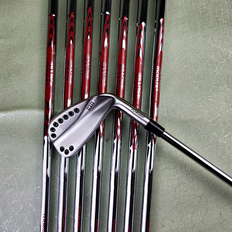 11golf Irons Silvery Golf Forged Iron 11 Golf Clubs 3-9w R S Steel Shaft With Head Cover Free Delivery Free Shipping