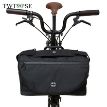 TWTOPSE Bicycle British Flag S Bag For Brompton Folding Bike Bicycle Bag Pannier Luggage